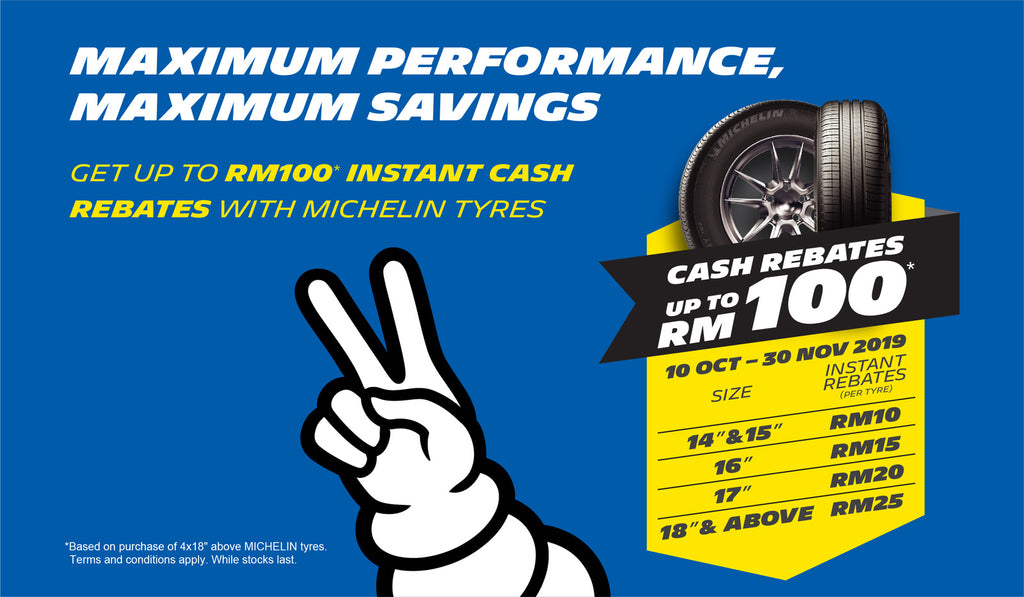 MICHELIN TYRE PROMOTION NOVEMBER 2019