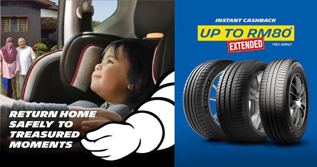 MICHELIN INSTANT CASHBACK PROMOTION EXTENDED