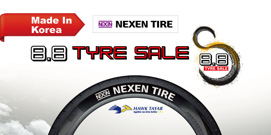8.8 Crazy Tyre Promotion