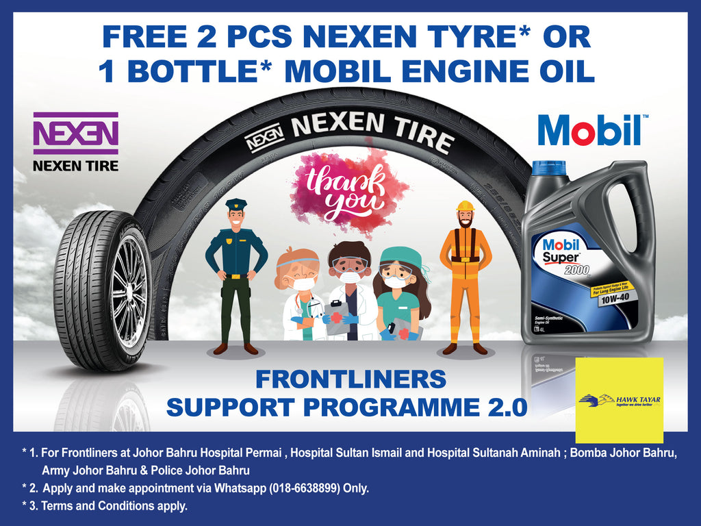 HAWK TYRE FRONTLINERS SUPPORT PROGRAMME 2.0