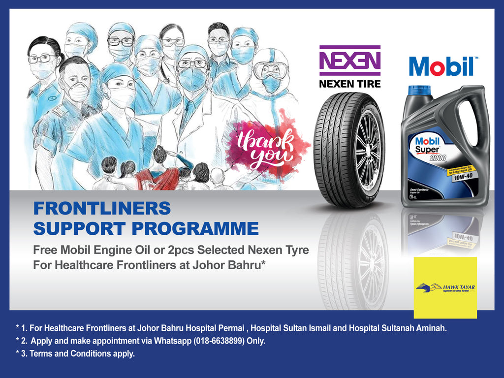 Hawk Tyre Frontliners Support Programme