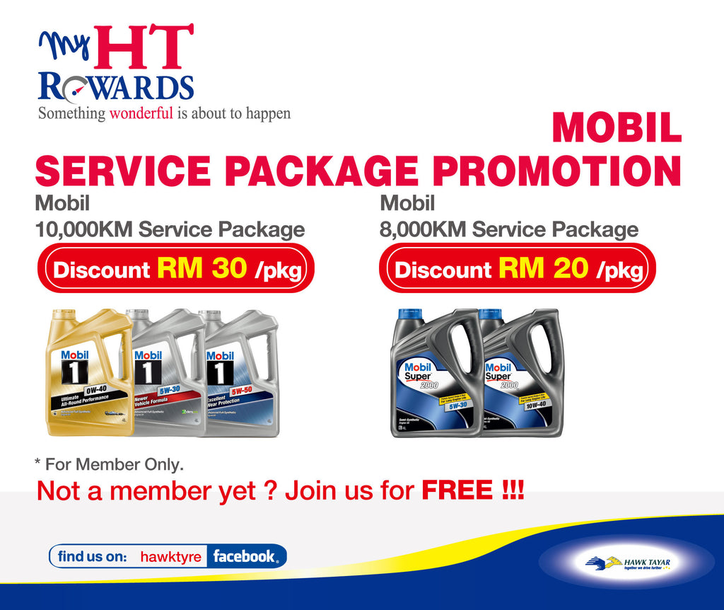 MOBIL SERVICE PACKAGE PROMOTION