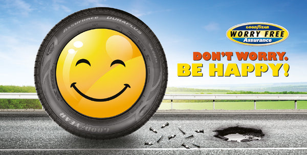 Goodyear Worry Free Program at Hawk Tyre