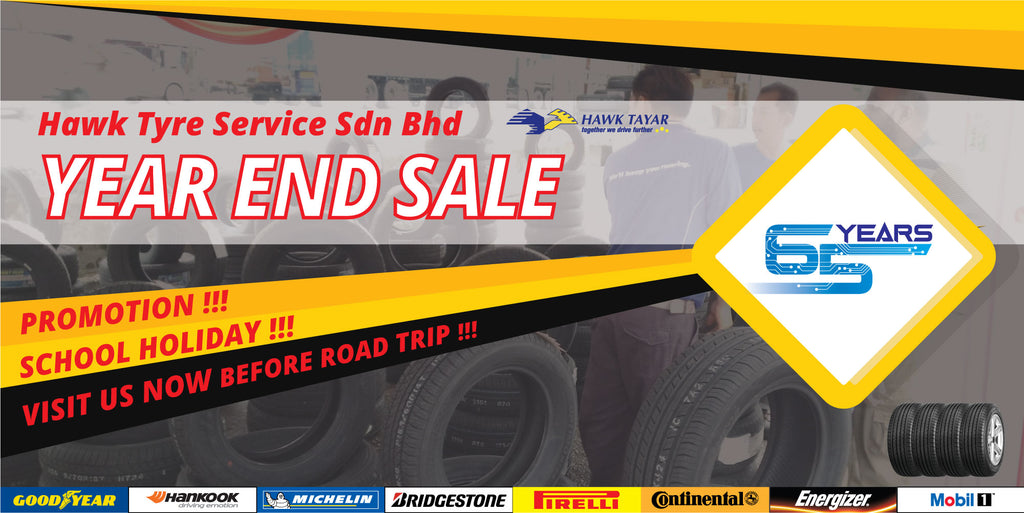 Year End Tyre Promotion - Hawk Tyre
