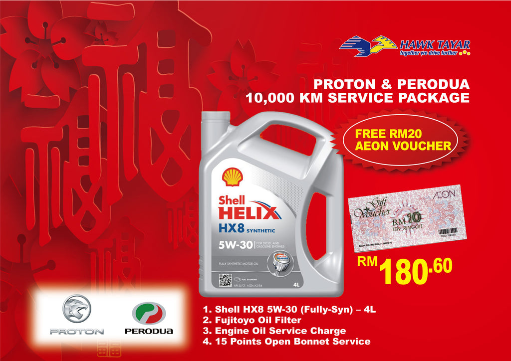 10,000KM PROTON PERODUA SERIVICE PACKAGE CHINESE NEW YEAR PROMOTION 2020