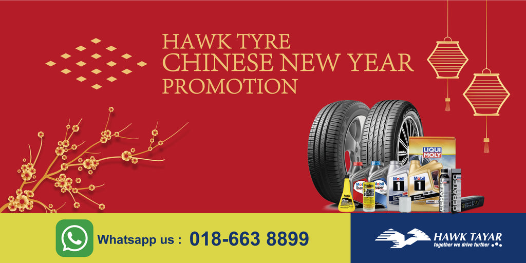 Hawk Tyre Chinese New Year 2021 Promotion