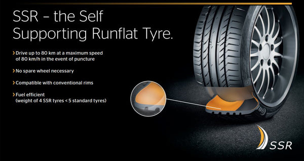 continental tyre contisportcontact 5 csc5 run flat. Black Bedroom Furniture Sets. Home Design Ideas