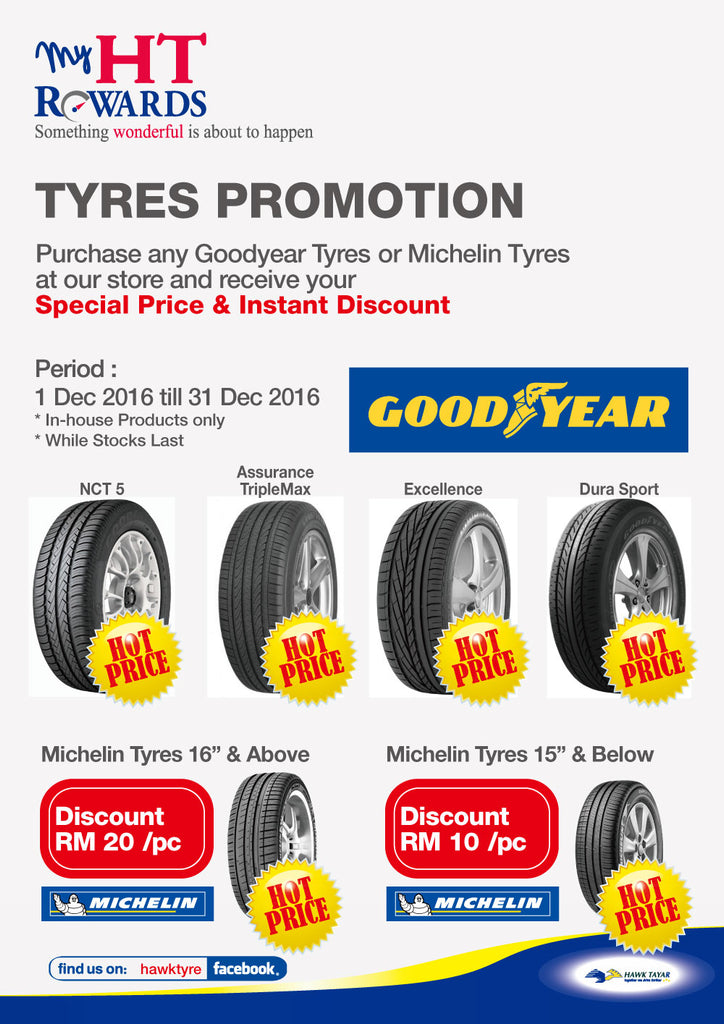 Hawk Tyre December 2016 Year End Tyre Promotion