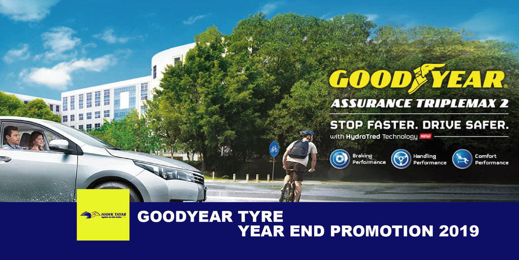 Goodyear Tyre Year End Promotion 2019