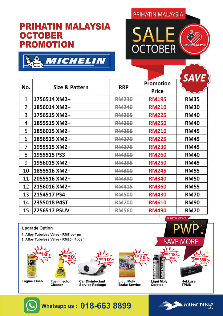 Michelin October Promorion