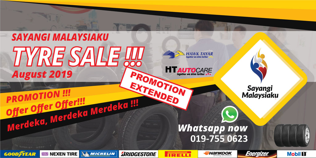 Hawk Tyre promotion september 2019