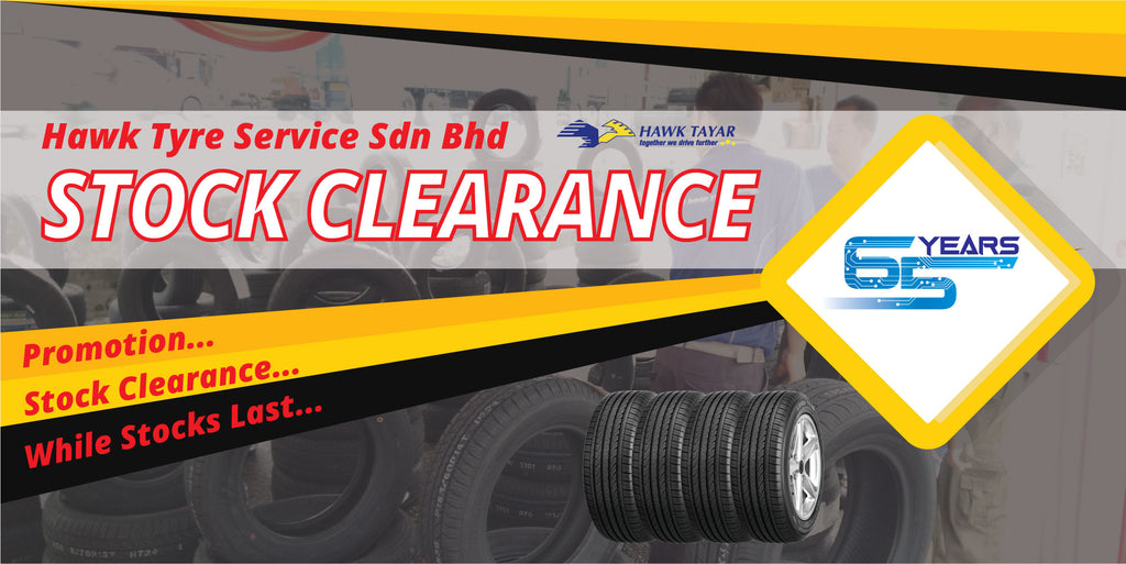 Hawk Tyre Stock Clearance 2018 Promotion