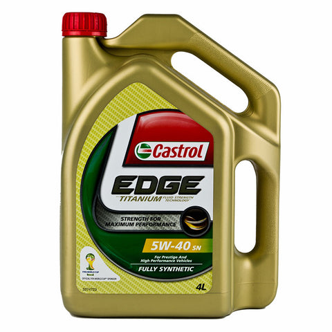 Engine Oils - Castrol EDGE 5W40