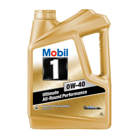 Engine Oils - Mobil 1 0W40 - Hawk Tyre