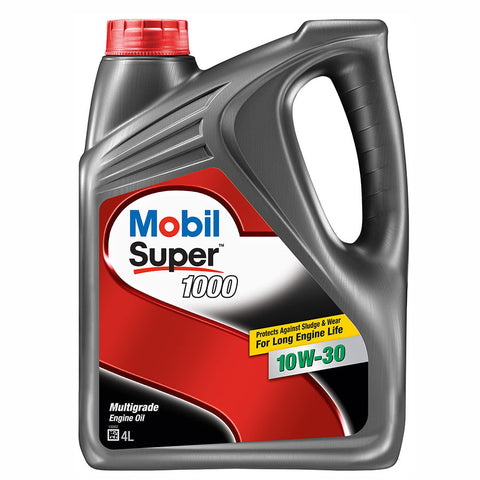 Engine Oils - Mobil Super 1000 10W30 - Hawk Tyre