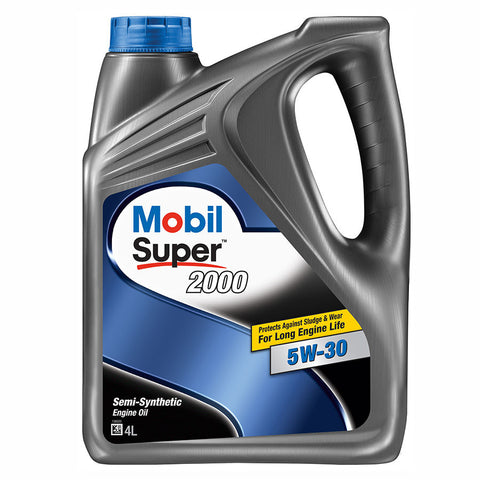 Engine Oils - Mobil Super 2000 5W30 - Hawk Tyre