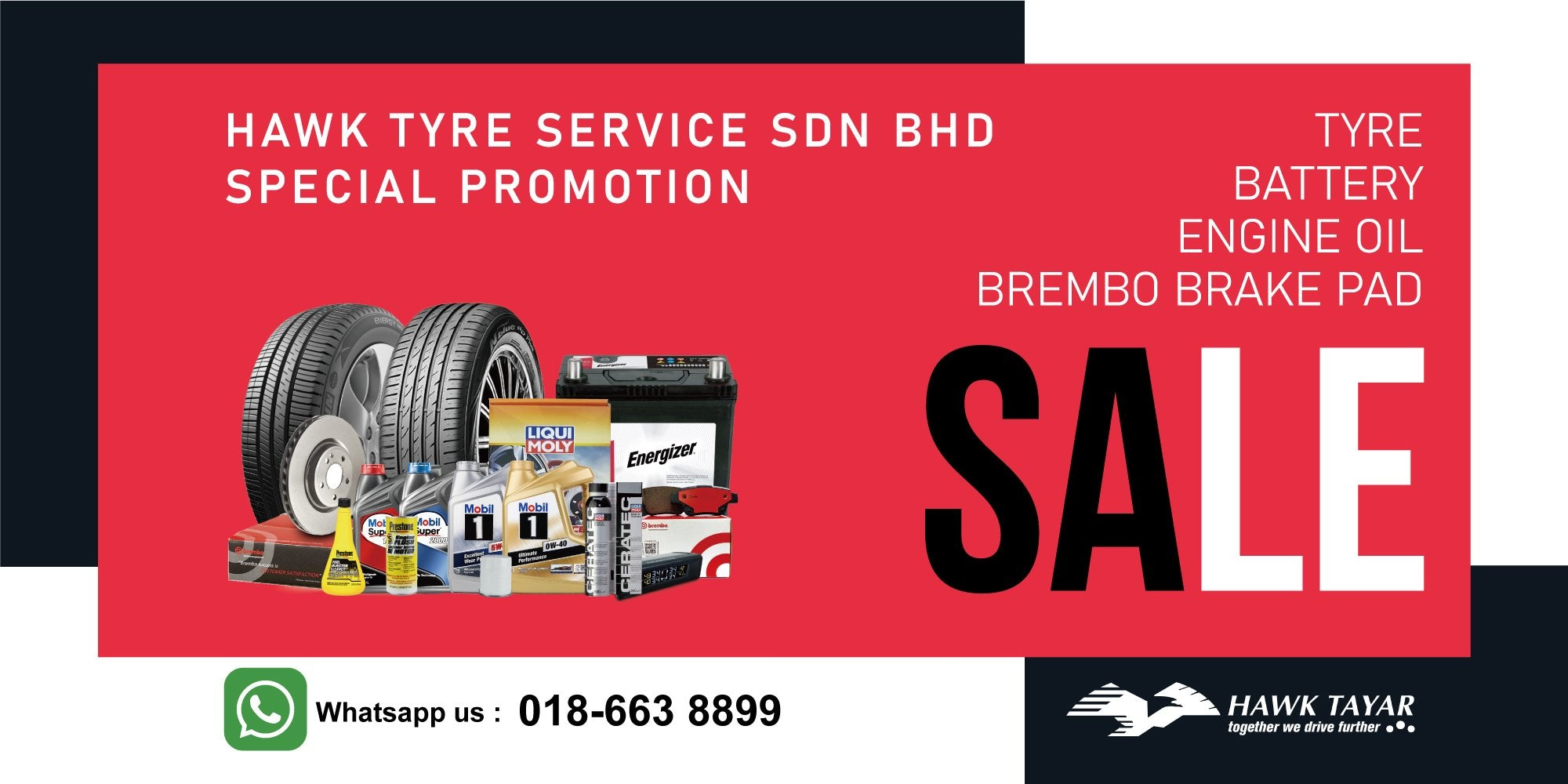 0% GST TAX HOLIDAY TYRE PROMOTION - HAWK TYRE
