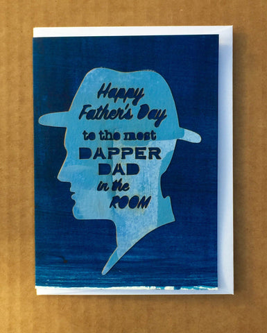 Dapper Dad Fathers Day Card