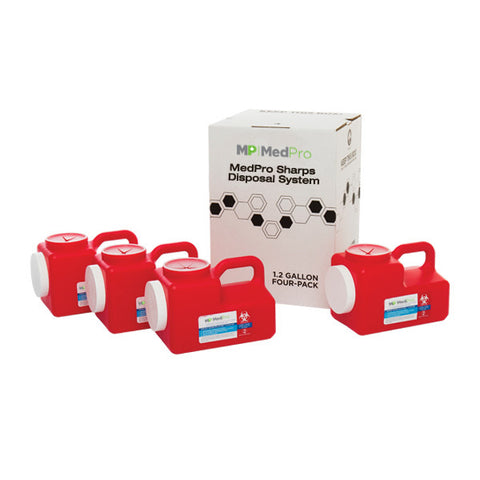 1.2 Gallon Sharps Disposal System - Multi Pack
