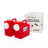2 Gallon Sharps Disposal System (2 Pack)
