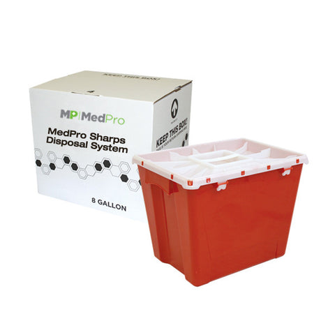 8 Gallon Sharps Disposal System