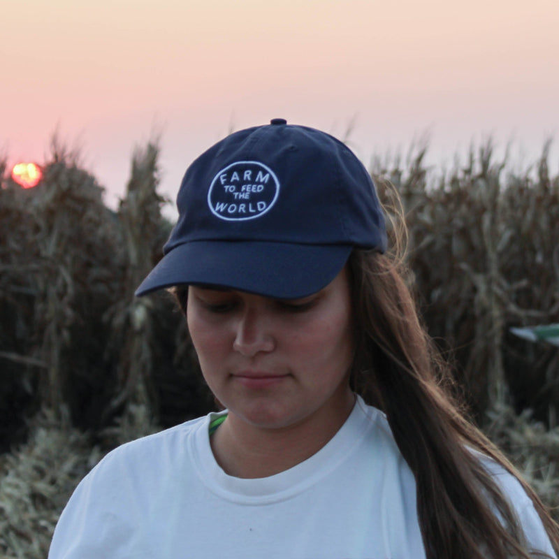 farm to feed the world harvest hat, Rosebud's tees