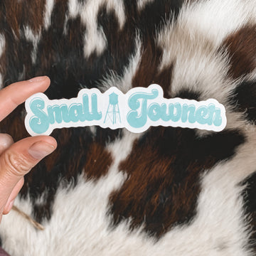 """""""Small Towner"""" Bubble Letter Sticker"""
