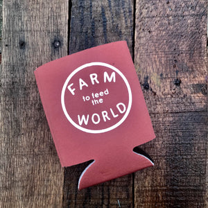 Feed the World Koozie