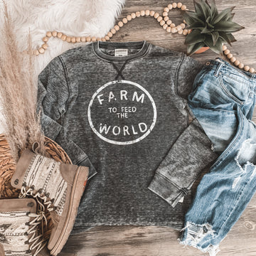 """""""Farm to Feed the World"""" Long Sleeve Thermal"""