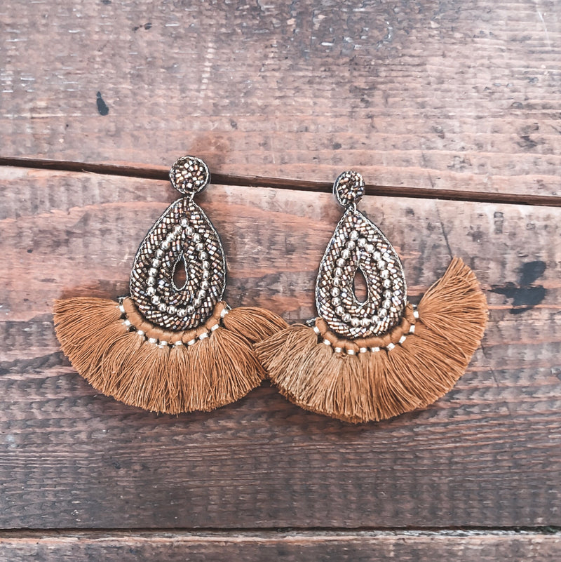 Take Me Dancing Tassel Earrings