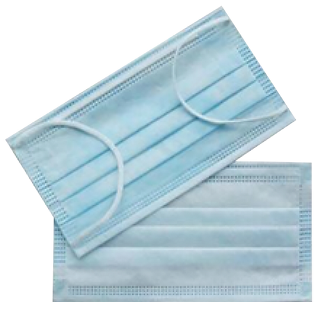Type IIR Fluid Resistance Surgical Masks Shield - 10 pieces (£0.28 each)