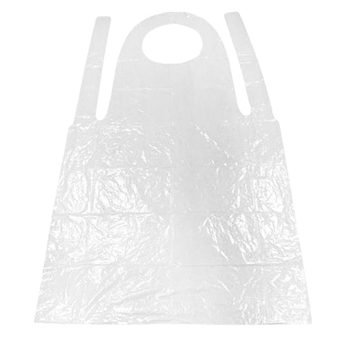 Disposable Apron - 600 pieces. To protect healthcare workers during procedures and patient care activities.  Indicated for use when there is risk of splashes or sprays to protect clothes, where gowns are used on a sessional basis or where the gowns are not fluid resistant. Re-use of aprons is not recommended.