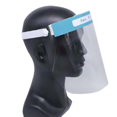 Face shields are devices that are used for protection of the facial area and associated mucous membranes (eyes, nose, mouth) from splashes,sprays, and spatter of body fluids.