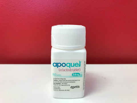 Apoquel 3.6mg for Dogs