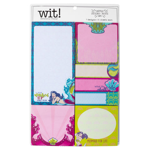 STICKY NOTE SET MERMAID (F18)