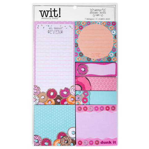 STICKY NOTE SET DONUT (F18)
