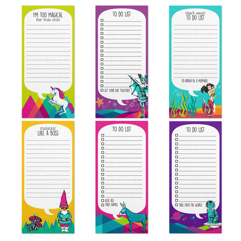 LONG NOTEPAD ASSORTMENT