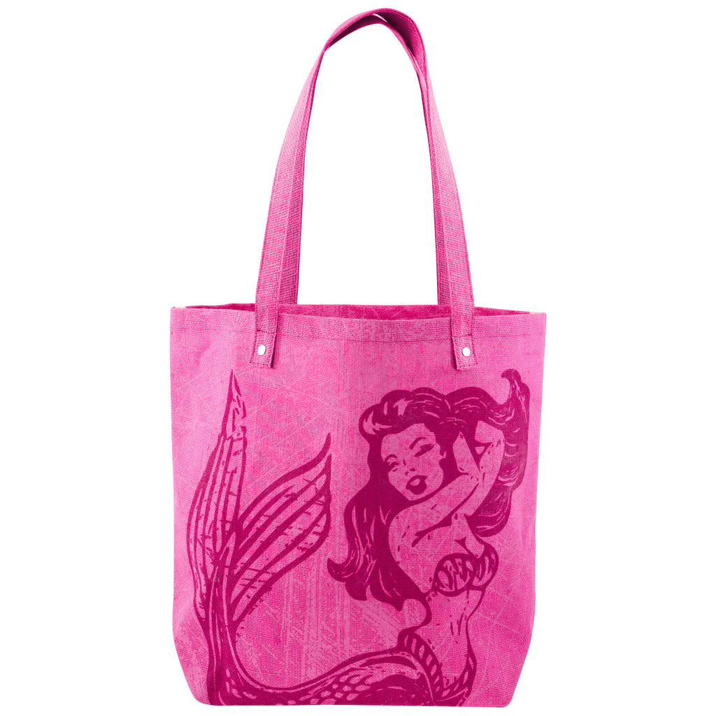 JUTE TOTE MERMAID (S18)
