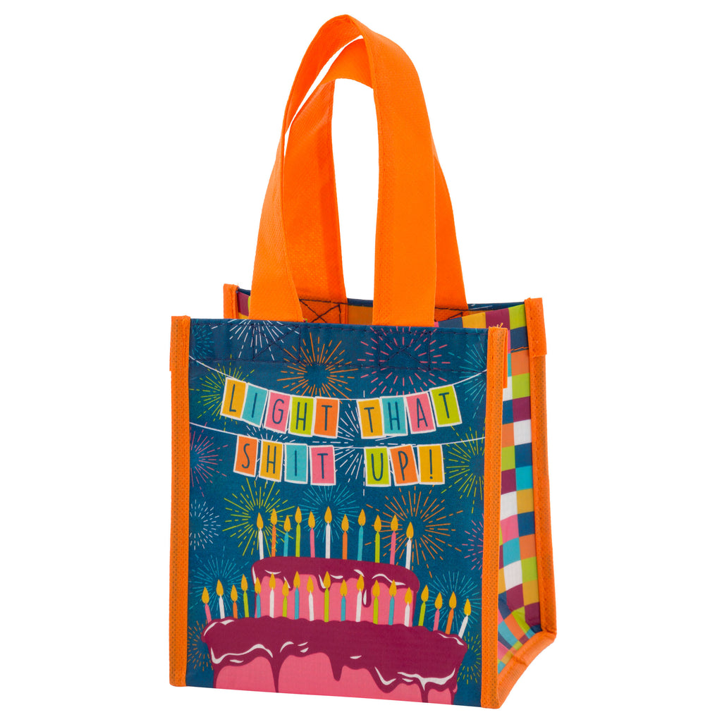 SMALL GIFT BAG BIRTHDAY S18 Wit Gifts