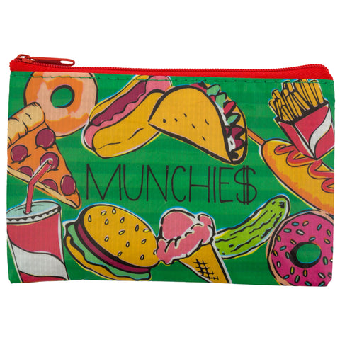 RECYCLED COIN PURSE MUNCHIES (S18)