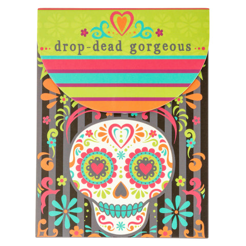 NOTEPAD SUGAR SKULL (F18)