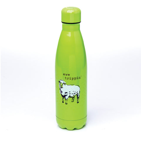 SS WATER BOTTLE  SHEEP