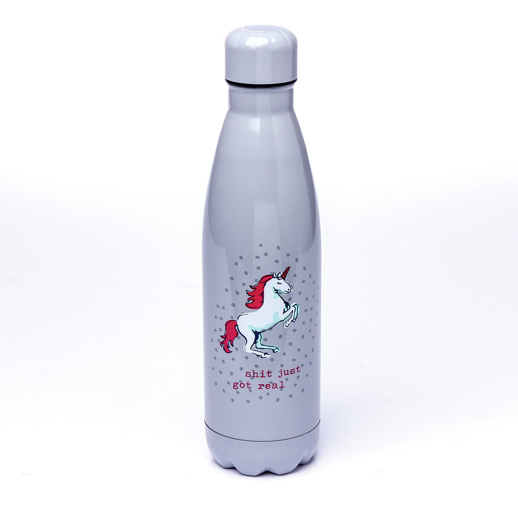 SS WATER BOTTLE  UNICORN