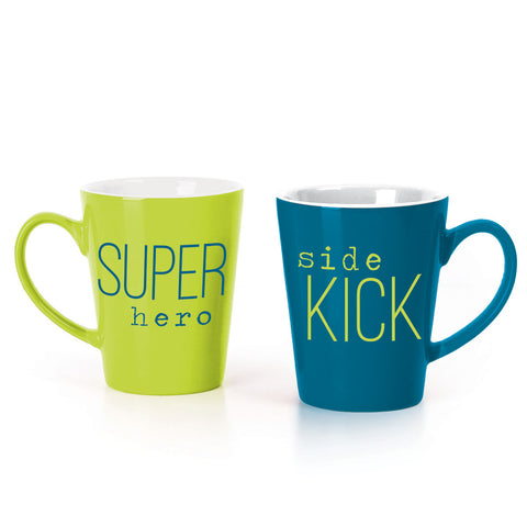 MUG BOX SET  GREEN HERO