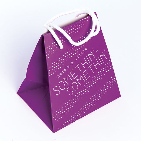 GIFT BAG SMALL  PURPLE