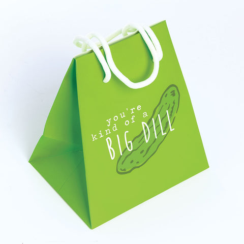 GIFT BAG SMALL  GREEN/BIG DILL