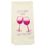 TEA TOWELS WINE GLASS