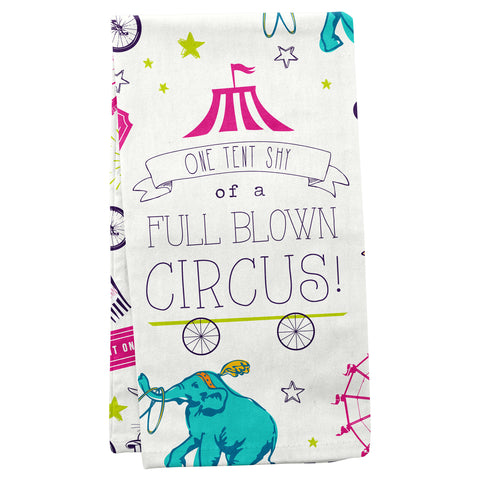 TEA TOWELS CIRCUS (S19)