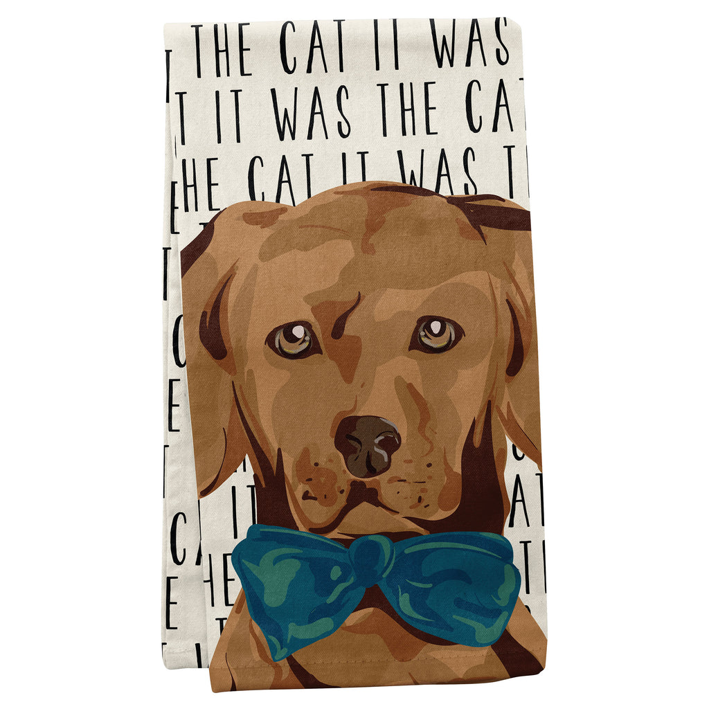 TEA TOWELS DOG (S19)