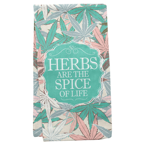 TEA TOWELS HERBS (S19)